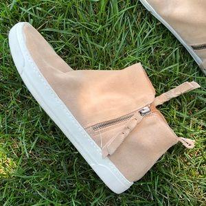 Pink Dolce Vita Xenon zip Sneakers
